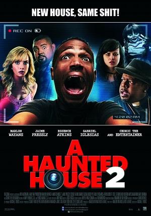Дом с паранормальными явлениями 2 (комедия ужасов с черным юмором 2014) A Haunted House 2