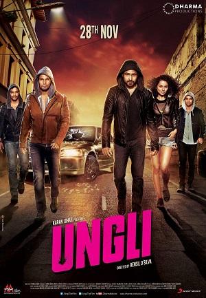 Полицейский (комедия из Индии про борцов с коррупцией в полиции  2014) Унгли - средний палец / Ungli