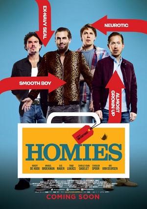 Оболтусы (голландская криминальная комедия про придурков и русскую мафию 2015) Homies
