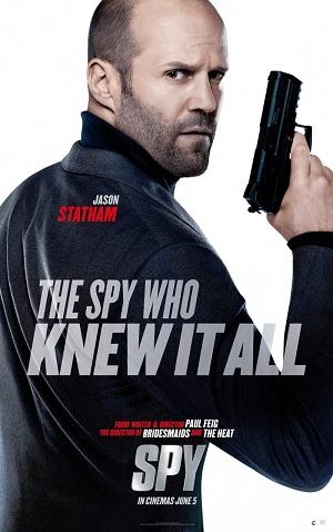 Шпион (комедийный боевик с Джейсоном Стэйтемом и Джудом Лоу 2015) Spy