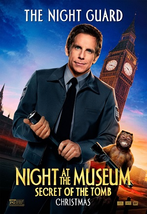 Ночь в музее: Секрет гробницы (Бен Стиллер в семейной комедии 2014) Night at the Museum: Secret of the Tomb